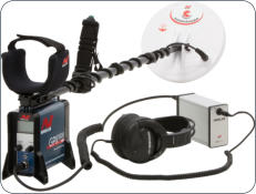 Minelab's flagship GPX5000 detector.