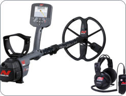 The CTX3030, Minelab's top of the line coin and relic detector is also useful on gold nuggets in some situations.