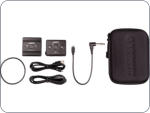 Garrett Z-link wireless detector audio kit. Transmitter, receiver and cables.