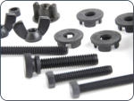 "Kit has 4 x velcro ties, 4 x coil washers, 1 x thumbolt and nut, 1 x  2"" bolt, 2 x 1-1/2"" bolts and wingnuts, 2 x coil spacers."